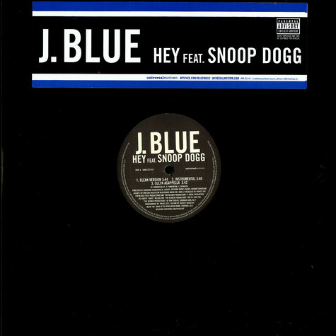 J.Blue - Hey feat. Snoop Dogg