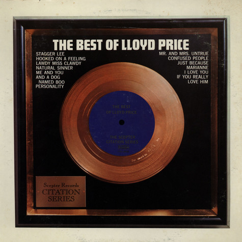 Lloyd Price - The best of Lloyd Price