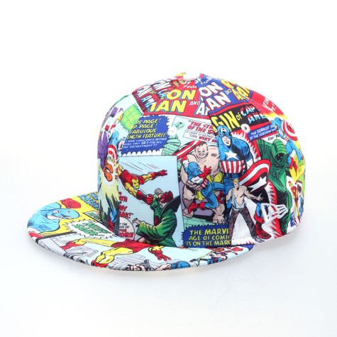 New Era X Marvel - Captain America allover cap