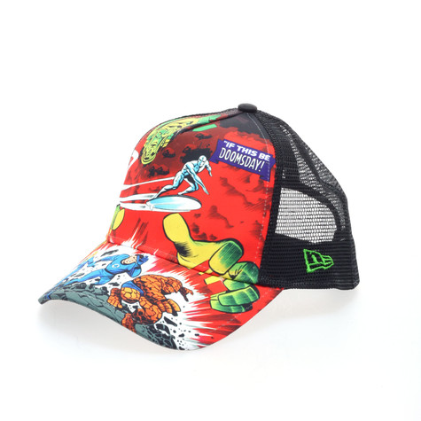 New Era x Marvel - Doomsday Fantastic 4 trucker hat
