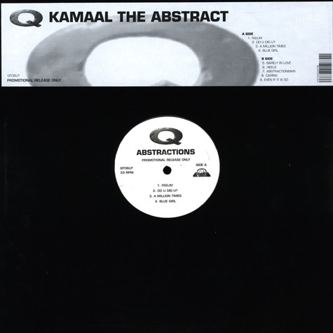 Kamaal The Abstract (Q-Tip) - Abstractions