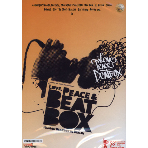 Volker Meyer-Dabisch - Love, Peace & Beatbox - Human Beatbox in Berlin