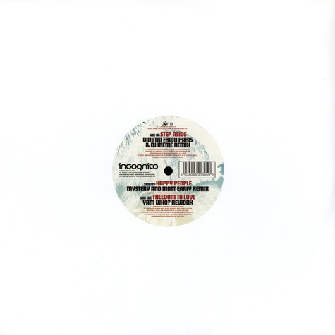 Incognito - Step aside remix EP