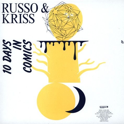 Russo & Kriss - 10 days in comics EP