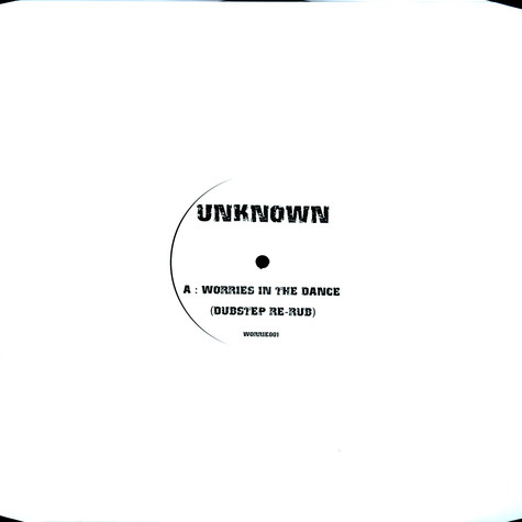 Unknown - Worries in the dance (dubstep re-rub)