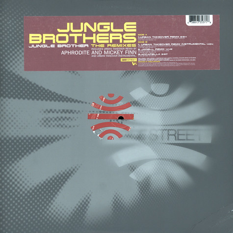 Jungle Brothers - Jungle brother the remixes