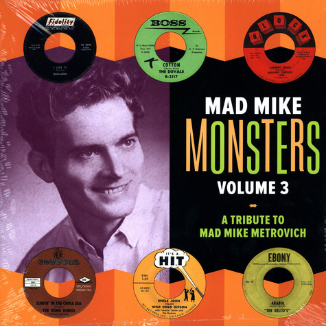 Mad Mike Monsters - Volume 3