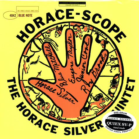 Horace Silver Quintet, The - Horace-scope
