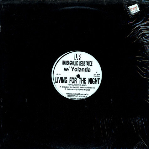 Underground Resistance with Yoanda - Living for the night