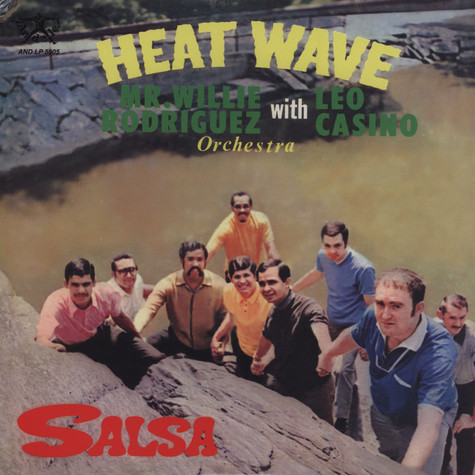 Heat Wave Orchestra with Mr.Willie Rodriguez & Leo Casino - Salsa