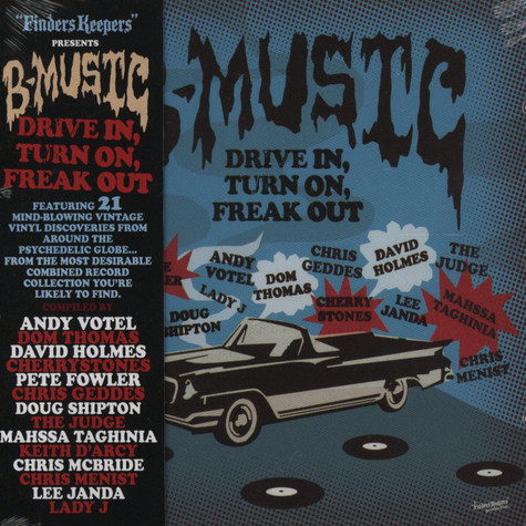 V.A. - B-music drive in, turn on, freak out
