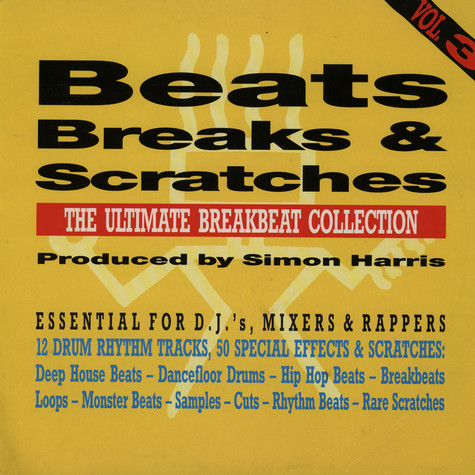 Simon Harris - Beats breaks & scratches volume 3