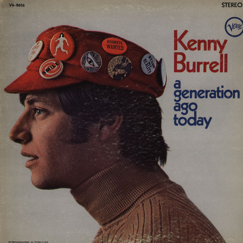 Kenny Burrell   - A Generation Ago Today