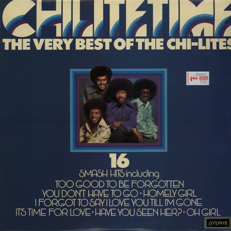 Chi-Lites - Chilitetime the very best of Chi-Lites