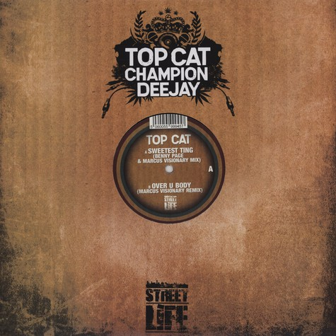 Top Cat - Sweetest Thing Benny Page & Marcus Visionary Remix