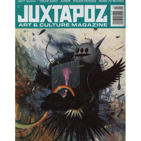 Juxtapoz Magazine - 2009 - 04 - April