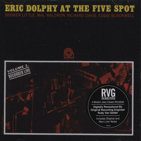 Eric Dolphy - Eric Dolphy at the Five Spot Volume 2