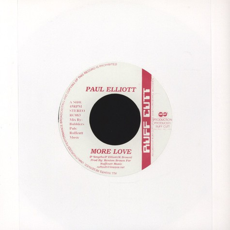Paul Elliott - More love