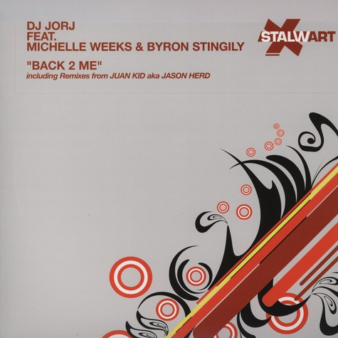 DJ Jorj - Back 2 me feat. Michelle Weeks & Byron Stingily