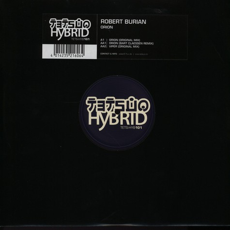 Robert Burian - Orion