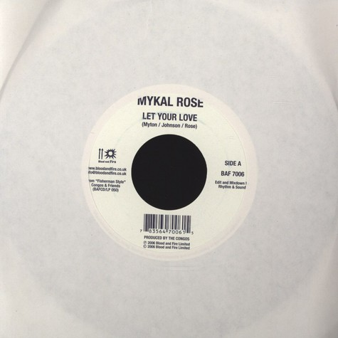 Michael Rose (Mykal Rose) / Early One - Let Your Love /  Jig Jig Jig