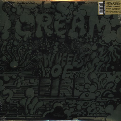 Cream - Wheels of fire - golden edition