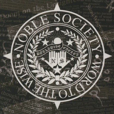 Noble Society - Word To The Wize EP