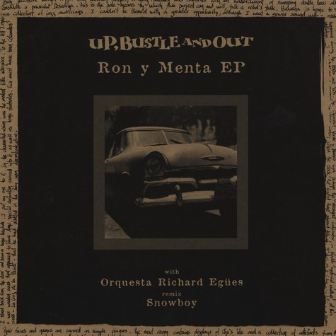 Up, Bustle & Out - Ron Y Menta EP