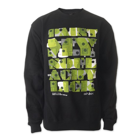 Acrylick - Fresh Paint Crewneck Sweater
