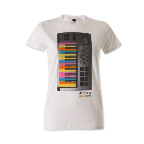 Acrylick - 25 Keys Women T-Shirt