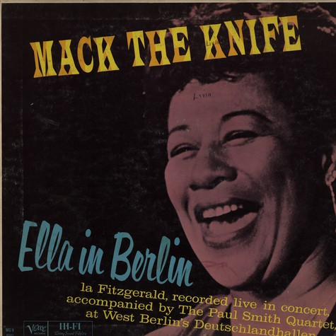 Ella Fitzgerald - Ella in Berlin ... mack the knife