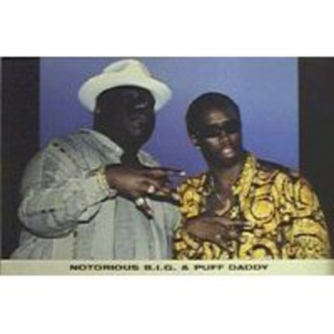 Notorious B.I.G. & Puff Daddy - Poster