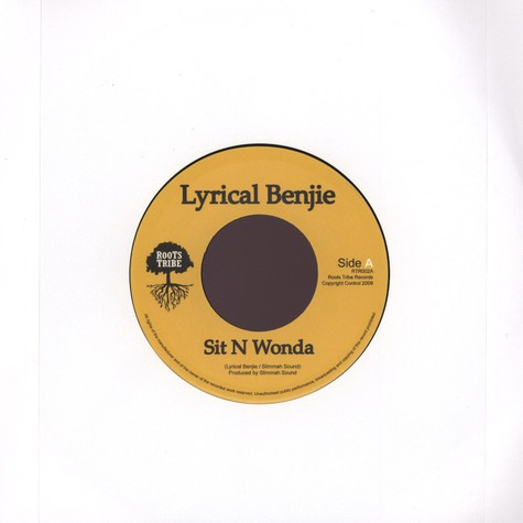 Lyrical Benjie / Slimmah Sound - Sit N Wonda / Dub Version