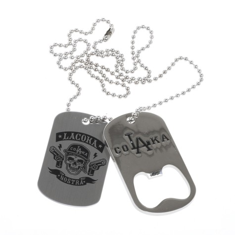 La Coka Nostra - Dog Tag / Bottle Opener