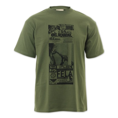 Listen Clothing - Fela News 2 T-Shirt