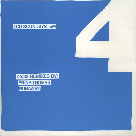 LCD Soundsystem - 45:33 Remixes Volume 1 - Prins Thomas & Runaway
