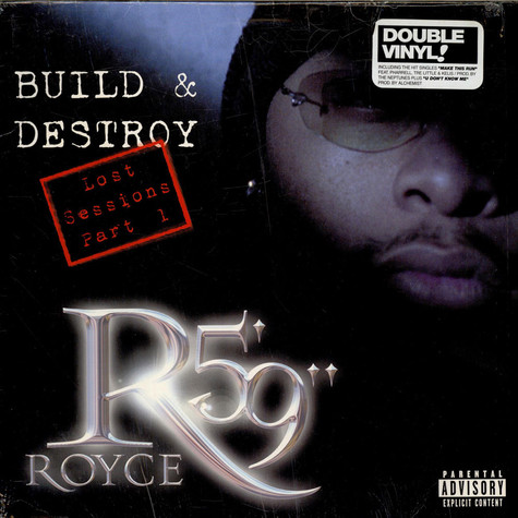 "Royce Da 5'9"" - Build & Destroy - Lost Sessions Part 1"
