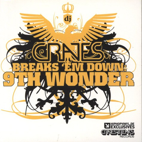 DJ Crates - Breaks 'Em Down: 9th Wonder