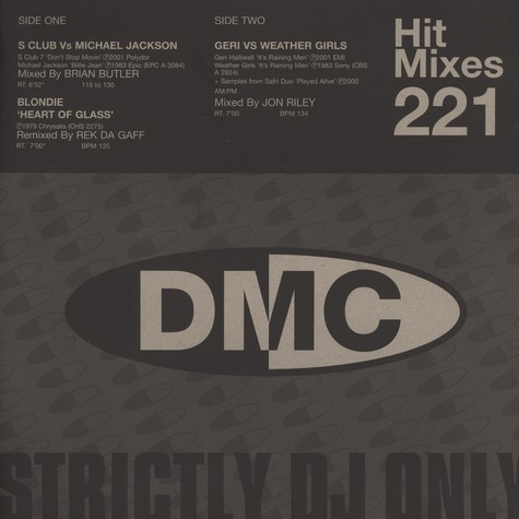 DMC Hit Mixes - Volume 221