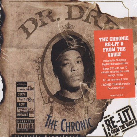 Dr. Dre - The Chronic - Re-lit From The Vault
