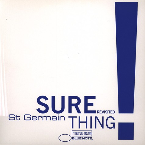 St. Germain - Sure Thing Revisited