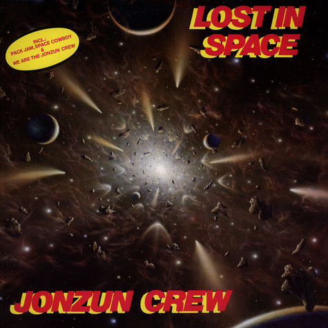 Jonzun Crew, The - Lost In Space