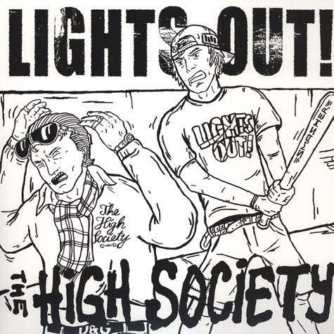 Lights Out / The High Society - Split LP