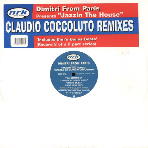 Dimitri From Paris - Jazzin The House