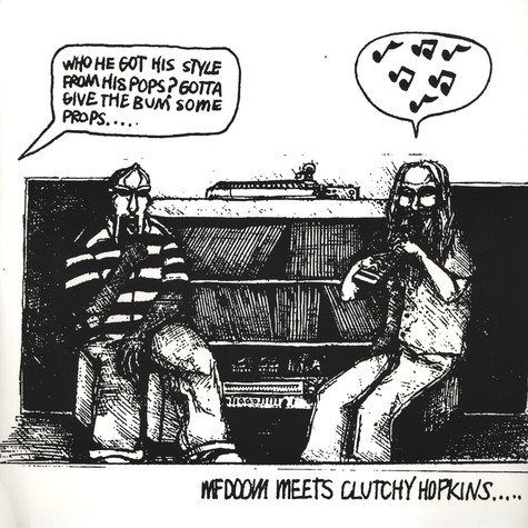 MF Doom & Clutchy Hopkins - MF Doom Meets Clutchy Hopkins...