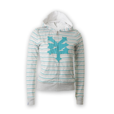 Zoo York - Dantastic Reverse Women Zip-Up Hoodie