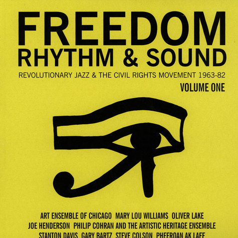 Gilles Peterson and Stuart Baker - Freedom, Rhythm and Sound - Revolutionary Jazz 1965-83 - LP 1