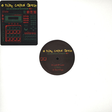 A Tribe Called Quest - Rare & Unreleased Instrumentals Volume 1
