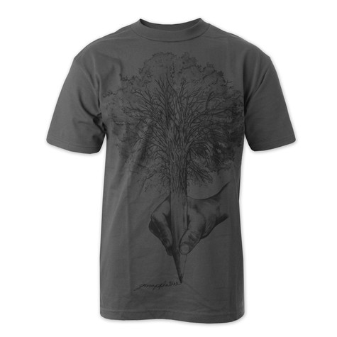 GRN Apple Tree - Craft Fitted T-Shirt