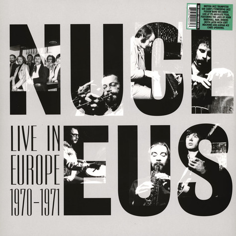 Nucleus - Live In Europe 1970-1971